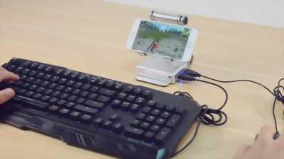 Gamesir x1 hỗ trợ chơi game mobi