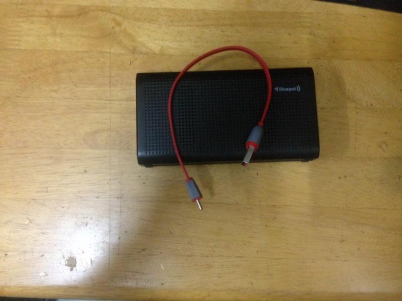 Pin sạc dự phòng kết hợp loa nghe bluetooth
