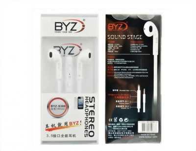 Tai nghe điện thoại BYZ-S389 - Tai nghe nhét tai