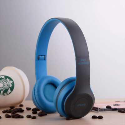 Tai nghe bluetooth. Headphone chụp. P47