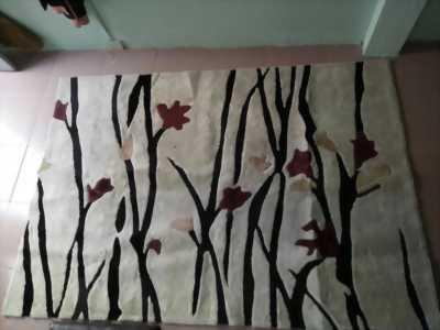 Thảm lông trải sàn 2m3x1m6 cao cấp