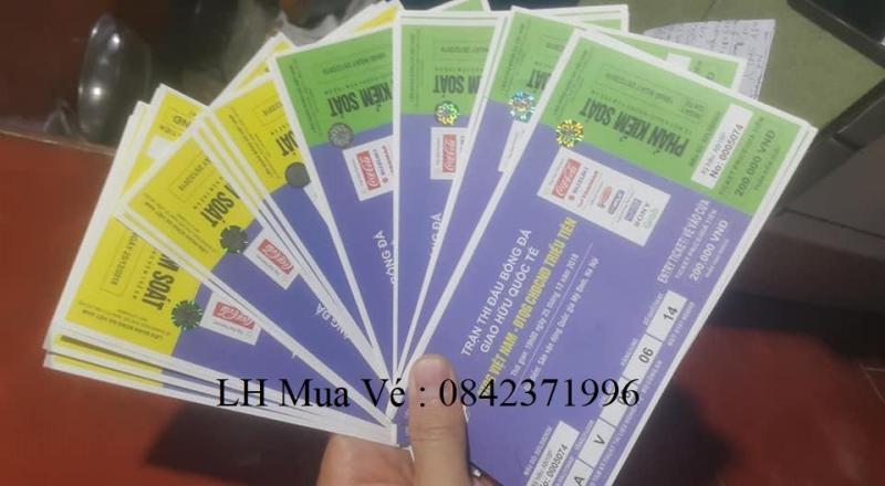 Bán Vé Bóng Đá Trận Việt Nam thi đấu với ĐT CHDCND Triều Tiên Tại Sân Vận Động Mĩ Đình 19h tối ngày 25-12-2018