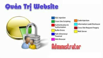 Dịch vụ quản trị website giá rẻ