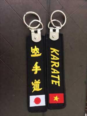 Móc khoá thêu Karate