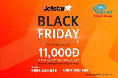 Chương trình Black Friday 11000 đồng của Jetstar