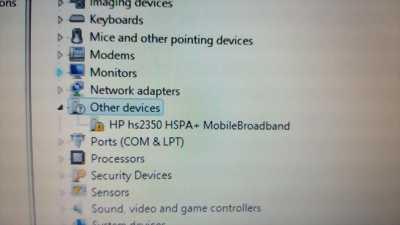 Card WWAN 3G Model: F5321 - HP hs2350 dùng cho HP