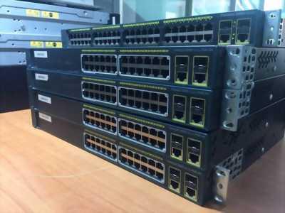 Cung cấp thiết bị Cisco đã qua sử dụng + BH 12 Tháng