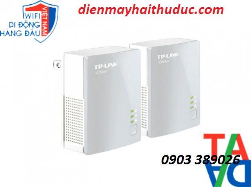 Bộ TP Link-PA4010 mở rộng internet qua đường dây điện đến 300m
