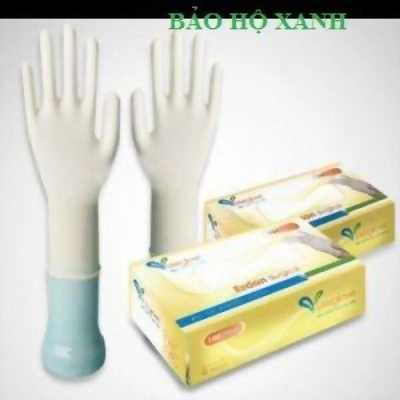 Bán găng tay cao su tự nhiên có bột tại Hà Nội