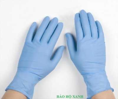 Bán găng tay cao su Nitrile không bột tại Hà Nội