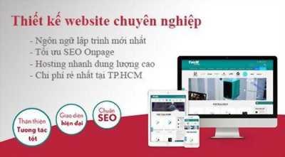 Thiết kế website chuẩn seo, chât lượng giá rẻ