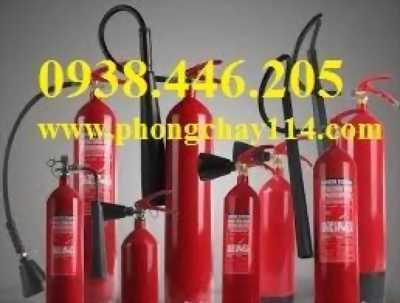 Nạp sạc bình chữa cháy giá rẻ 0938446205