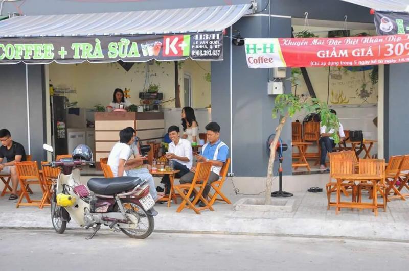 Sang quán cafe 2 mặt tiền. Quận bình tân