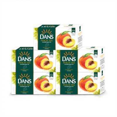 Trà vị đào Dans - nguyên liệu pha trà sữa