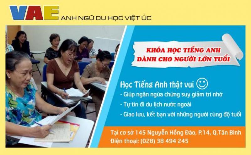 Lớp tiếng Anh cho người mất gốc Tân Bình