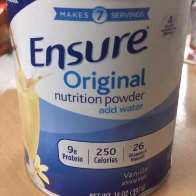Sữa bột Ensure Original nutrition powder
