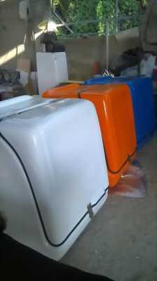Thùng chở hàng khuyến mại, thùng giao đồ ăn nhanh Hà Nội