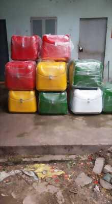 Thùng giao hàng ăn vặt, thùng chở hàng giá rẻ ở Hà Nội