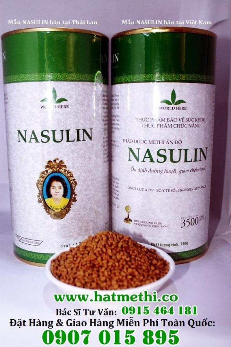 Hạt Methi Nasulin - thảo dược hàng đầu điều trị tiểu đường, mỡ máu cao