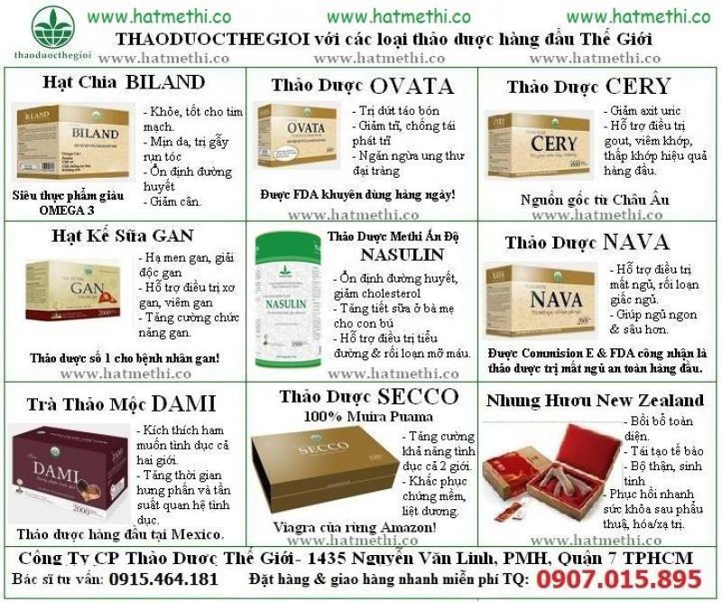 Thảo dược Methi Ấn Độ Nasulin mua ở đâu giá rẻ