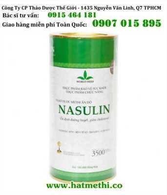 Thảo dược Methi Nasulin chuyên trị tiểu đường và máu nhiễm mỡ