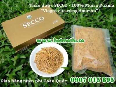 SECCO - 100% thảo dược thiên nhiên, tăng cường sinh lý an toàn hiệu quả