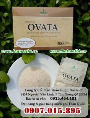 Thảo dược OVATA trị táo bón, trĩ, ruột kích thích đảm bảo khỏi bệnh