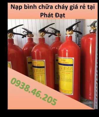 Báo giá nạp bình chữa cháy giá rẻ tại Phát Đạt