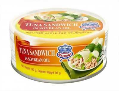 Cá ngừ Thái Lan Tuna Sandwich đóng hộp (140gr)