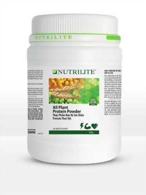 Bột hỗ trợ giảm cân và bảo vệ sức khỏe Nutrilite Protein thực vật (450g)
