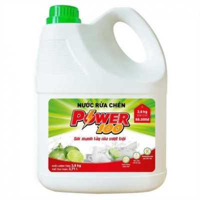 nước rửa chén power 100 bình 3 kg 8 ( 80.000 VND )