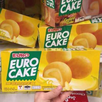 Bánh Trứng Euro Cake xách tay Thái Lan mới.