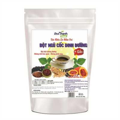 Bột ngũ cốc dinh dưỡng 500g ( có gấc)