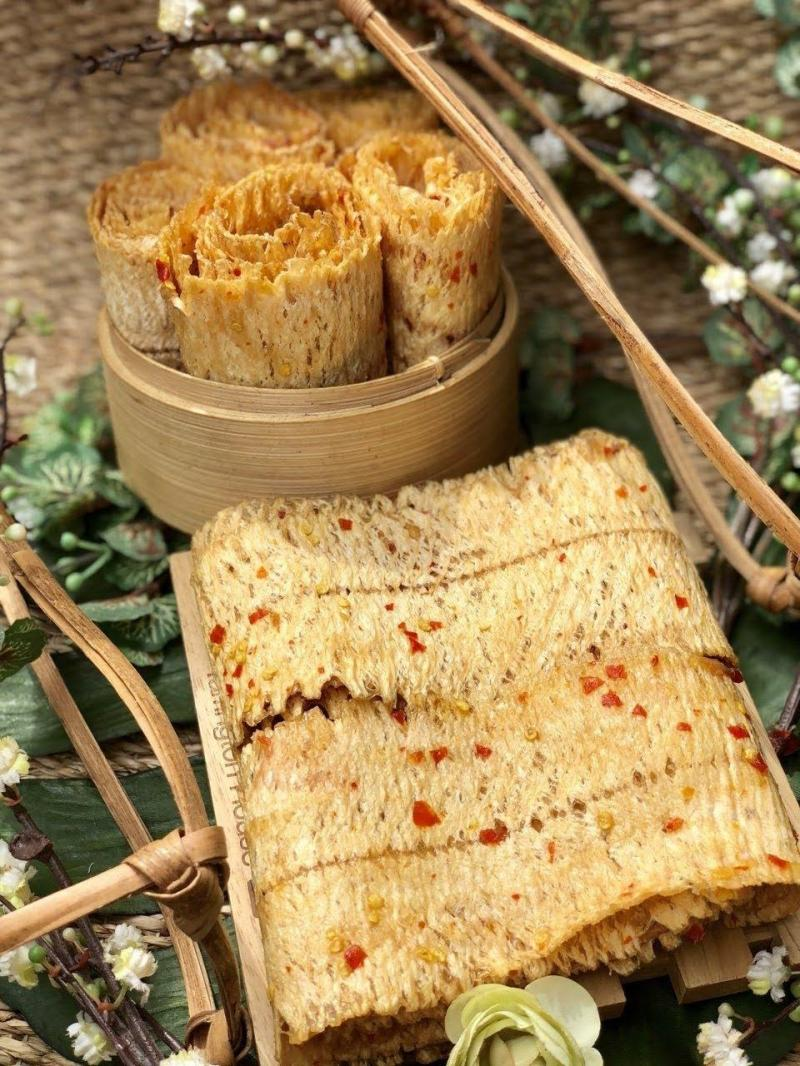 Gói 500gr Mực cán mỏng tẩm gia vị nguyên con thơm ngon hấp dẫn - Food by Mama