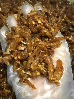 Gói 500gr Cá cơm rim lắc tỏi phi thơm ngon đậm vị gia truyền hấp dẫn - Food by Mama