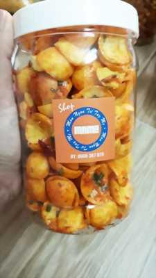Hủ 300gr Bánh snack lắc tôm hành thơm ngon hấp dẫn - Food by Mama