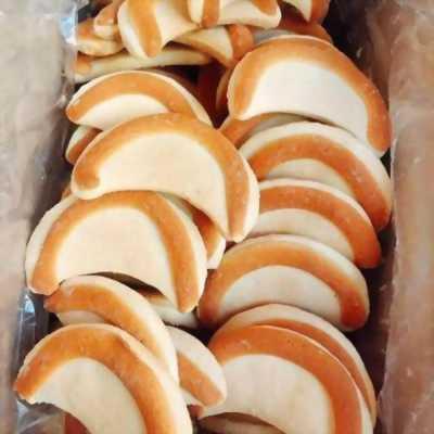 Gói 500gr Bánh lưỡi liềm vani sữa thơm ngon hấp dẫn - Food by Mama