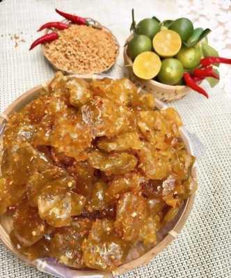 Hủ 500gr Tắc rim đường phèn lắc muối ớt thơm ngon - Food by Mama