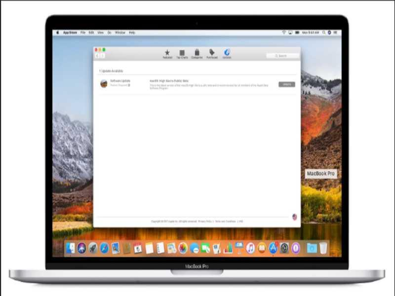 """Cập nhật: Hướng dẫn tải mac OS phiên bản beta công khai """"Hight Sierra"""""""