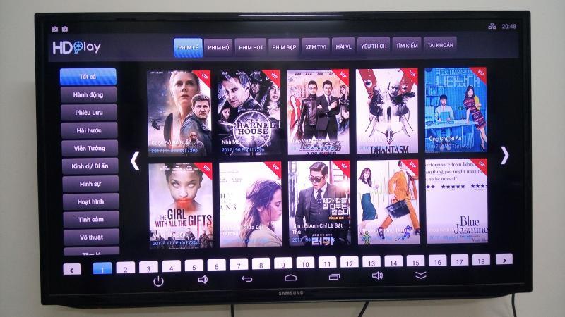 Android tv box (biến tv nhà bạn thành internet tv)