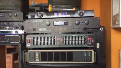 Trọn bộ karaoke gia đình đang sài còn zin còn bảo hành điện máy