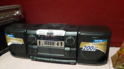 CD Cassette sony cfd- 6