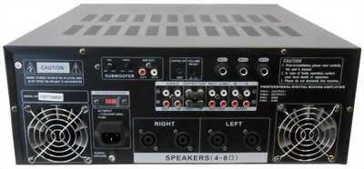 Digital echo stereo mixer Pro 2000
