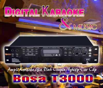 Amply Vang Sô Bosa T3000 giải pháp cho dàn karaoke của bạn