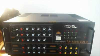 Amply jarguar 506N Gold và loa đứng yamha chính hãng