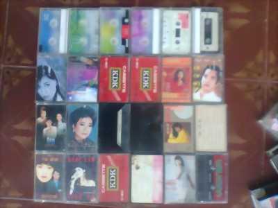 18 cuốn băng cassette đã có nhạc