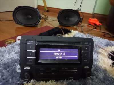 CD kiêm amply Volkswagen