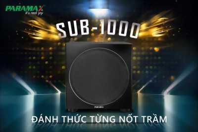 Loa Subwoofer Paramax SUB-1000 bass30,công suất đến 500W