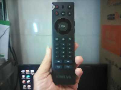 Remote chuột bay Kiwi V6 điều khiển TV bằng giọng nói