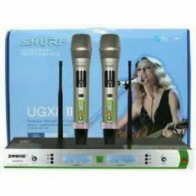Micro không dây Shure UGX8 II giảm giá 10% ở Thủ Đức